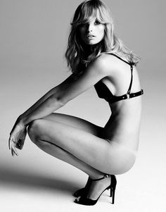 Flavia Lucini Strips Down for Elle Mexico October 2012 by Manolo Campion