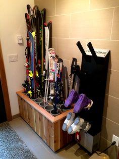 Ski Rack 12