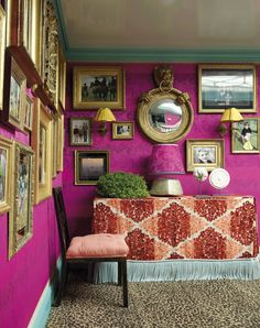 Jeffrey Bilhuber: American Master by Sara Ruffin Costello, Introduction by Jeffrey Bilhuber, Foreword by Mariska Hargitay, Photos by Will. Beige Room, Victorian Greenhouses, Attic Renovation, Salon Style, Grey Carpet, Furniture Styles, Modern Room, American, Rugs On Carpet