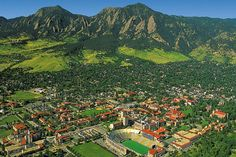 Proud to have attended Colorado University at Boulder.  Beautiful campus.  Just wish I did better in school.
