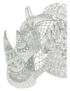 Would you love to relax but feel as though you don't have the time or money? Download these free advanced animal coloring