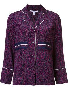 Shop Derek Lam 10 Crosby pyjama style blouse.