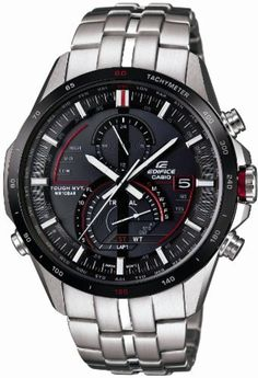 Casio EDIFICE TOUGH MVT. Tough Solar MULTIBAND6 EQW-A1300DB-1AJF Watch (Japan Import) by Edifice -- Awesome products selected by Anna Churchill