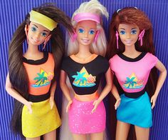 Check out old dolls from the '90s... also '90s toys, '90s toys for girls, '90s dolls, Barbies and more.