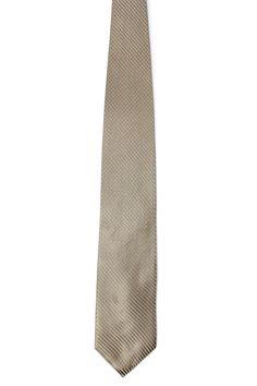 Joseph Abboud Jose Silk Tie In Taupe And Beige