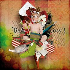 GAB Time @ Scrapbookbytes - Cosy Memories by Bero - The French Touch is 1$ only till 11/18 - http://scrapbookbytes.com/store/manufacturers.php?manufacturerid=243
