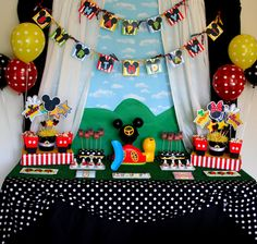 40 Mickey Mouse Party Ideas
