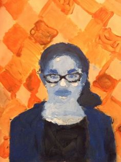 Monochromatic+Self+Portraits+-+Artsonia+Lesson+Plan