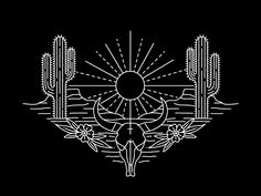 This design will be embroidered on button-up shirts for Sendero Provisions Co. Working on colors for the stitching now.