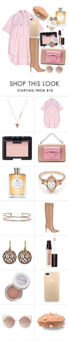 """""""Beau Coup"""" by chelsofly on Polyvore featuring Wolf Circus, Walk of Shame, NARS Cosmetics, Balenciaga, Atkinsons, BEA, Boohoo, Gianvito Rossi, Laurent Gandini and Laura Mercier"""