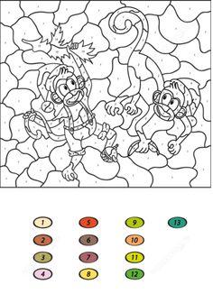 colornumber | ausmalbilder kinder, ausmalbilder, malen nach zahlen
