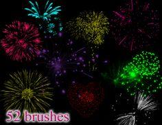 Fireworks Brush 2 by mandykat on DeviantArt