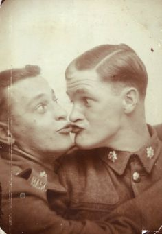 WWII photo booth