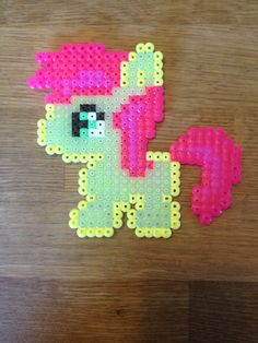 Apple proud. My little pony. Bead pattern.