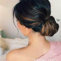HOW TO: 2-MINUTE ELEGANT HOLIDAY UPDOS | MakeupWearables Hairstyles