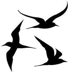 трафарет птицы: 20 тыс изображений найдено в Яндекс.Картинках