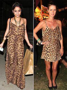 Vanessa Hudgens Leopard Maxi