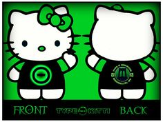 A tribute to Type O Negative and Hello Kitty. This is an update of: