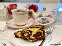 کیک مرمری – Marble Cake – وبلاگ ويدا