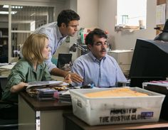 Review: In 'Spotlight,' The Boston Globe Digs Up the Catholic Church's Dirt - The New York Times
