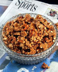 Malted Pretzel Crunch aka Snack Crack. I had to make 5 pans of this one football Sunday! Baseball season snacking now