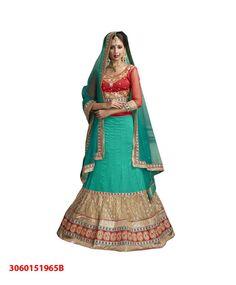 ????Designer 3 piece Lehenga Choli for Weddings