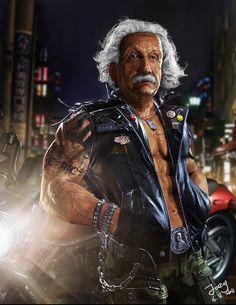 Albert Einstein #sexy por Fan Zhang