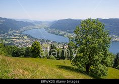 #View From Mt. #Gerlitzen To #Lake #Ossiach @alamy #alamy #ktr15 @carinzia #nature #landscape #hiking #summer #spring #season #austria #carinthia #vacation #holidays #travel #sightseeing #leisure #mountains #bluesky #beautiful #active #sport #view #viewpoint #stock #photo
