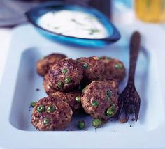 Spicy lamb patties- Don't dismiss Indian cooking as 'too hard' and leave it to your local curry house, try cooking this spicy lamb dish for starters. Serve with a mint raita.