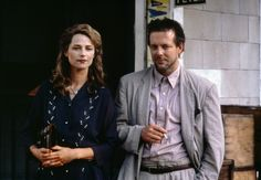 Mickey Rourke and Charlotte Rampling in Angel Heart directed by Alan Parker, 1987