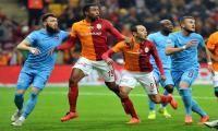 Olaylı maçın galibi Galatasaray