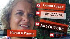 Como Criar Canal no Youtube-  Primeiros Passos  Parta 1-Marketing Criati...