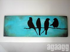 DIY canvas art | creative~