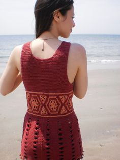 Reina Crocheted Top Pattern: $5.99