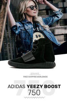104addaa8 How to get Adidas Yeezy Boost 750 Triple Black sneakers online