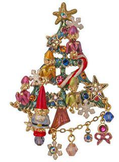 Kirks Folly Elfin Magic Christmas Tree Pin Enhancer Gnome | eBay