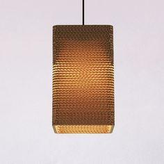 Square20 lamp by Wishnya Design Studio