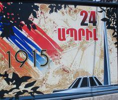 a billboard in Yerevan streets