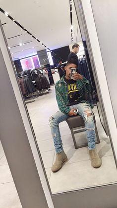 Black Men Street Fashion, Hipster Fashion, Urban Fashion, Mens Fashion, Swag Outfits Men, Tomboy Outfits, Fashion Outfits, Everyday Outfits, Everyday Fashion