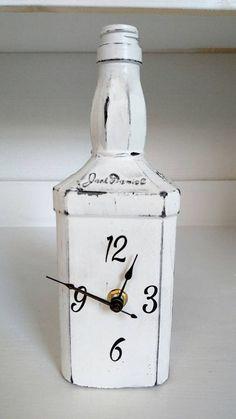 Jack Daniels bottle clock, clocks,unique bottle clock,unique clocks, Jack… (Bottle Painting Diy) daniels bottle crafts diy This item is unavailable Whiskey Bottle Crafts, Alcohol Bottle Crafts, Glass Bottle Crafts, Wine Bottle Art, Alcohol Bottles, Diy Bottle, Liquor Bottles, Bottles And Jars, Glass Bottles