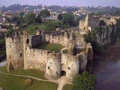 Chepstow Castle, the oldest surviving stone castle in Britain (11th century)