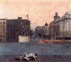 """"""" Atocha """" 1964 by Antonio López García"""