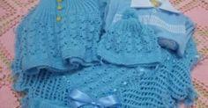 Conjunto para Bebê em trico