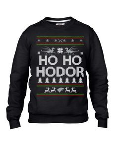 On the hunt for Christmas sweaters? Check out this funny Christmas sweater for Game of Thrones fans.