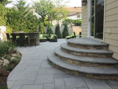 Cambridge paver stairs - Google Search #outdoor #deck #ideas