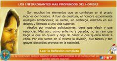 MISIONEROS DE LA PALABRA DIVINA: REFLEXIÓN - LOS INTERROGANTES MAS PROFUNDOS DEL HO...