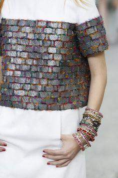 Close Up | Chanel SS 2015 | vogue.co.uk