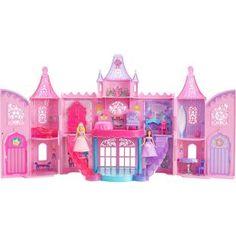 Castelo Barbie Mini Princesa - Mattel, lindo castelo para diversão de sua filha. Levando todos momentos a um sonho encantado.
