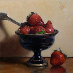 Debra Becks Cooper —  Strawberries with Style,  2014    (800x800)