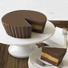 Peanut Butter Cup Cake...well this may not be on my diet....but yum!!
